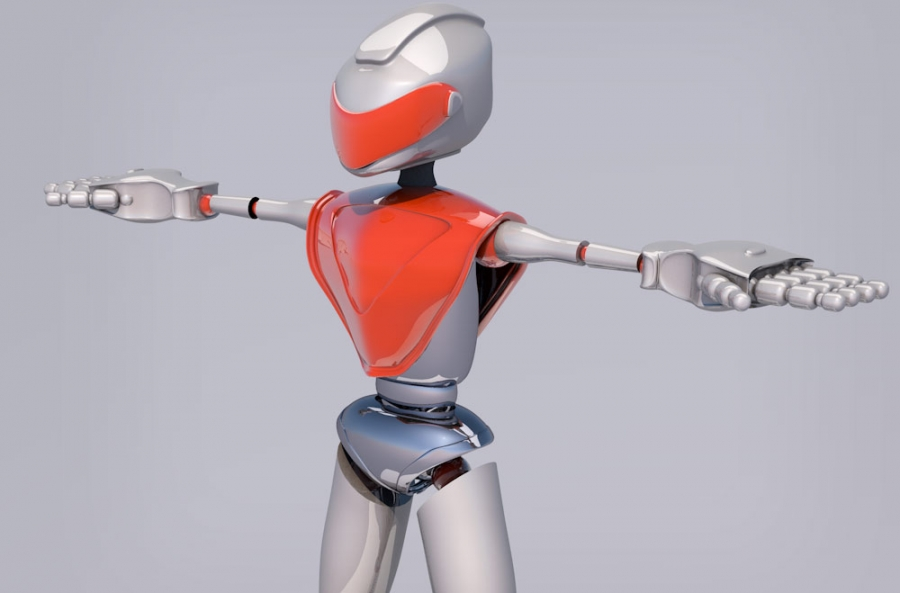 grafika 3d - robot